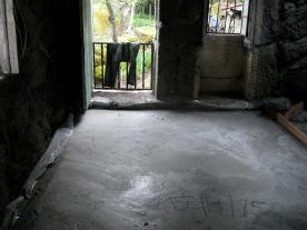 Pasen '15: betonvloer kamer 1