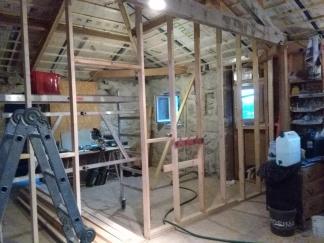 Zomer 2017: houtstructuur slaapkamer en badkamer
