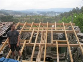 Pasen '14: opbouw dak 1