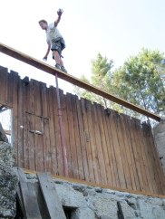 Zomer '14: opbouw dak 2