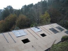 Winter 14-15: achterkant dak